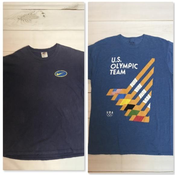 Vintage Other - Lot of 2 Vtg Men's Tshirts Nike Just Do It
